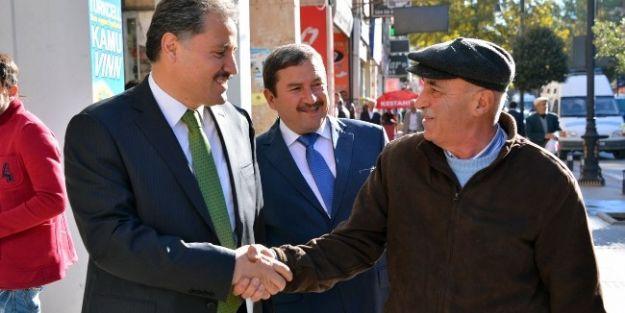 Malatya Belediye Başkanı Ahmet Çakır'dan Esnaf Ziyareti