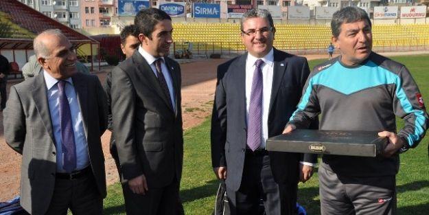 Malatya Büyükşehir Belediye Başkan Aday Adayı İnci, Yms Antrenmanını Ziyaret Etti