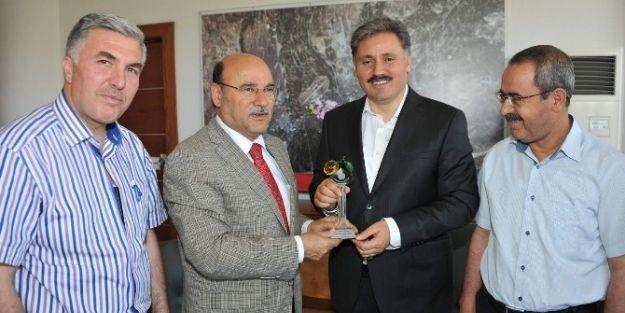 Malatya Büyükşehir  Belediye Başkan Ahmet Çakır'a Ziyaretler