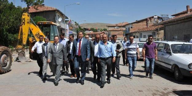 Malatya Büyükşehir Belediye Başkanı  Ahmet Çakır, Akçadağ'ı Ziyaret Etti