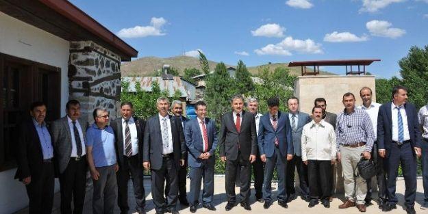 Malatya Büyükşehir Belediye Başkanı Ahmet Çakır, Arapgir'i Ziyaret Etti