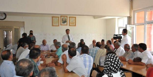 Malatya Büyükşehir Belediye Başkanı Ahmet Çakır, Arguvan'ı Ziyaret Etti