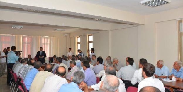 Malatya Büyükşehir Belediye Başkanı Ahmet Çakır, Yazıhan'da İnceleme Yaptı