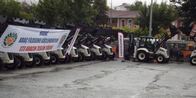 Malatya Büyükşehir Belediyesi Araç Filosuna 123 Takviye