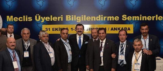 Malatya Heyeti, Tobb'de Bilgilendirme Seminerine Katıldı