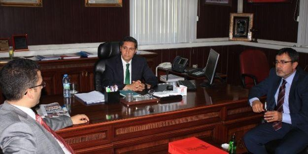 Malatya İl Milli Eğitim Müdürü Ali Tatlı'ya 'hayırlı Olsun' Ziyaretleri