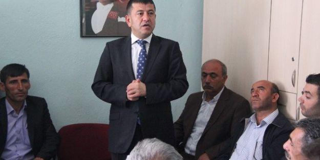 Malatya Milletvekili Veli Ağbaba, Akçadağ'ı Ziyaret Etti