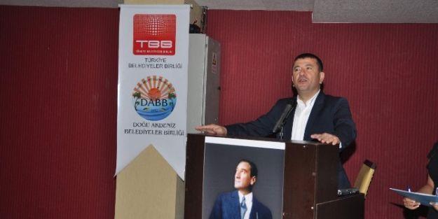 Malatya Milletvekili Veli Ağbaba, Dabb Seminerine Katıldı.