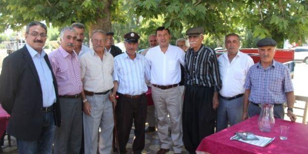 Malatya Milletvekili Veli Ağbaba, Doğanşehir'de Seçim Çalışması Yaptı