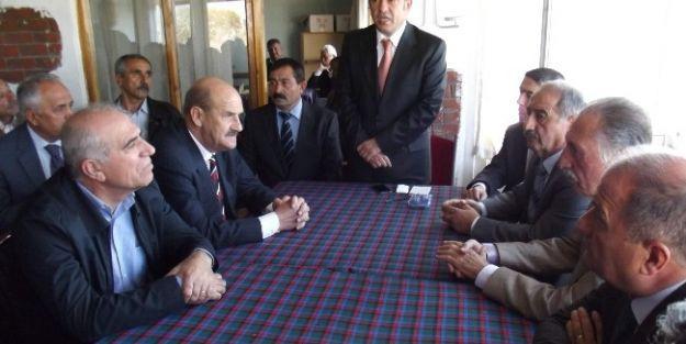 Malatya Milletvekili Veli Ağbaba, Güzeyyurtlular Derneği'ni Ziyaret Etti