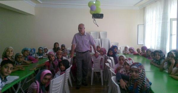 Malatya Müftüsü Ümit Çimen,  Kur'an Kursunu Denetledi