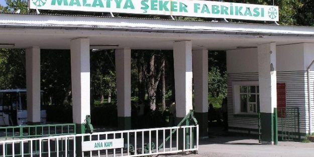 Malatya Şeker Fabrikası'nda Kampanya Dönemi Başladı
