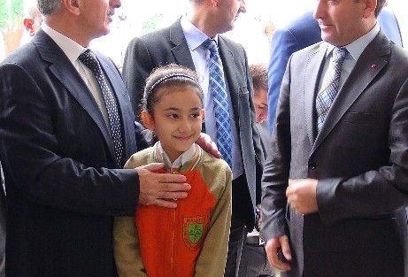 Malatya Valisi Süleyman Kamçı'dan Kaymakam Nesim Babahanoğlu'na Ziyaret
