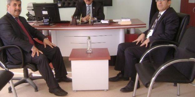 Malatya Vergi Dairesi Başkanı Yunus Poyraz'dan  Doğanşehir'e Ziyaret