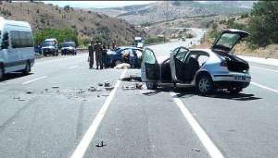 Malatya yolunda kaza: 2 ölü