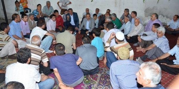 Malatya'da Ak Partililer'den Mahalle Ziyaretleri