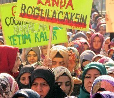 Malatya'da İsrail'i Protesto Eylemi