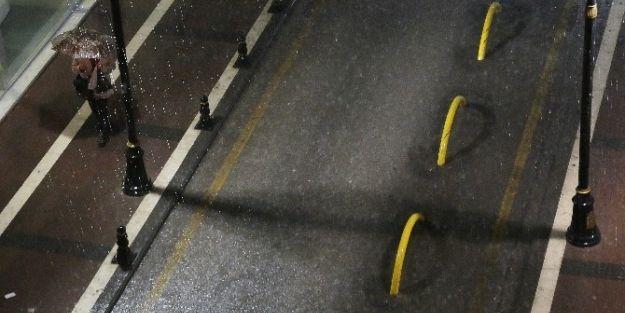 Malatya'da Sağanak Yağış