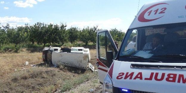 Malatya'da Trafik Kazası: 10 Yaralı