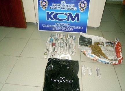 Malatya'da Uyuşturucu Ve Kaçak Sigara Operasyonları