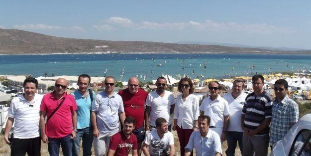 Malatya'dan Basın Mensupları Çeşme'yi Gezdi