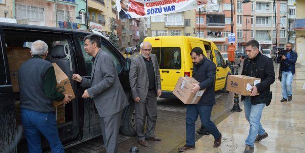 Malatya'dan İdlib'e ilaç yardımı