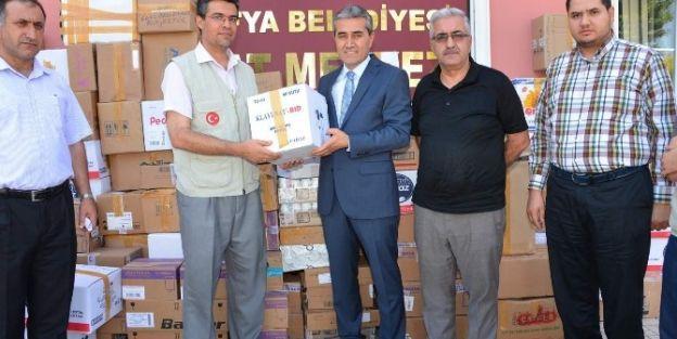 Malatya'dan Suriyelilere İlaç Yardımı