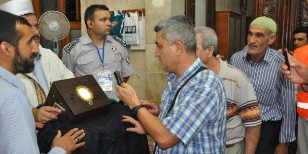 Malatyalılar, Sakal-ı Şerif'i Görmek İçin Camiye Akın Etti