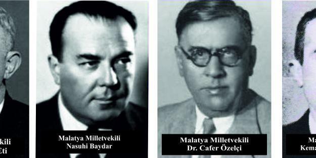 "Malatya'nın 'VUKUATLI"" milletvekilleri!..."