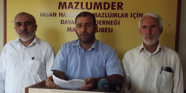 Mazlum Der Yöneticisi Mehmet Ay: