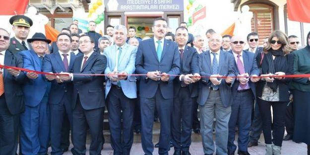 Medeniyet ve Sanat Araştırmaları Merkezi Açıldı