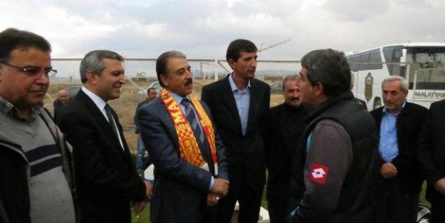 Mesob'dan Yeni Malatyaspor Antrenmanına Ziyaret