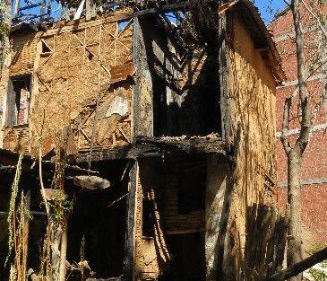Metruk Ev İçin Önlem Alınmadı