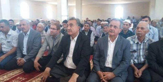 Mezrada Cami  Törenle İbadete Açıldı