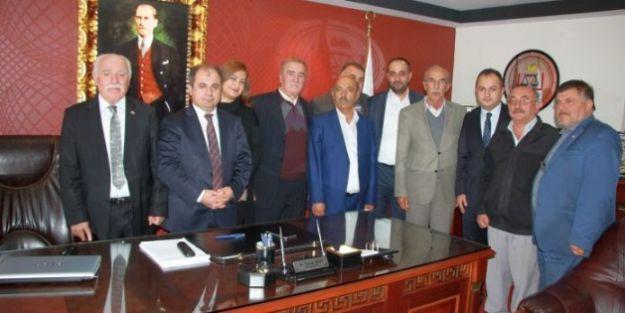 MHP' den Baro'ya Ziyaret