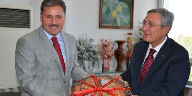Mhp Heyetinden Başkan Çakır'a Ziyaret