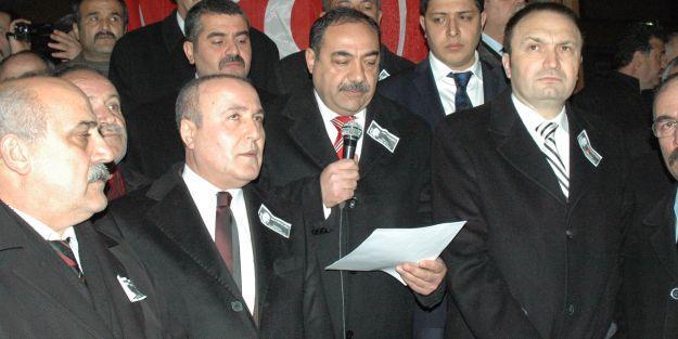 MHP Malatya İl Teşkilatı Esenyurt'taki saldırıyı protesto etti