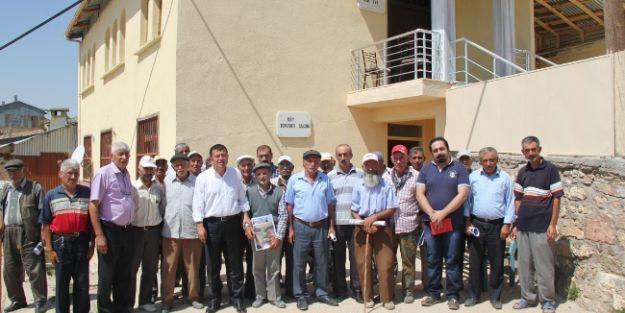 Milletvekili Ağbaba, Arapgir'in Köylerini Ziyaret Etti