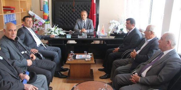 Milletvekili Ağbaba, Arguvan Belediyesi'ni Ziyaret Etti