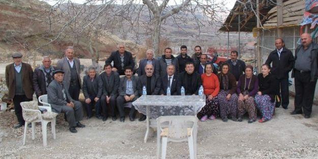 Milletvekili Ağbaba, Sel Bölgesinde İnceleme Yaptı