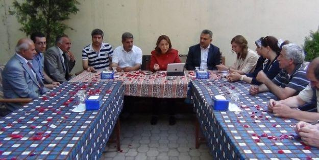 Milletvekili Çalık, Çırmıhtı'da Muhtarlarla Bir Araya Geldi