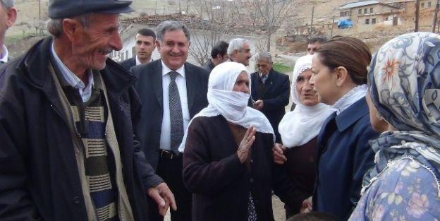 Milletvekili Çalık, Köy Ziyaretlerinde Bulundu