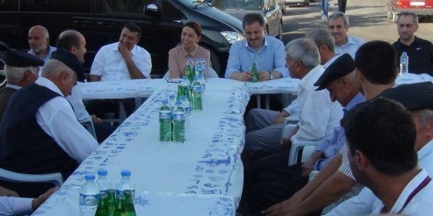 Milletvekili Çalık Ve Büyükşehir Belediye Başkanı Çakır'dan Mahalle Ziyaretleri