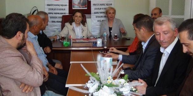 Milletvekili Çalık'dan Himayeder Başkanı Budan'a Ziyaret