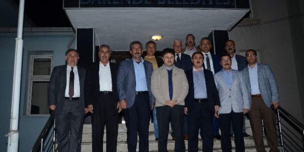 Milletvekili Fahrettin Poyraz, Darende'yi  Ziyaret Etti