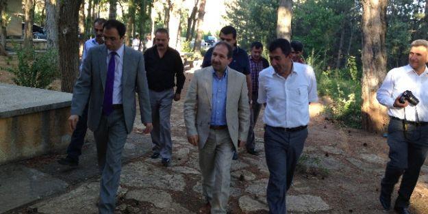 Milletvekili  Faruk Öz, Doğanşehir'de İncelemelerde Bulundu