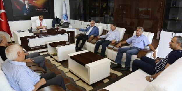 Milletvekili Fındıklı, Başkan Gürkan'ı Ziyaret Etti