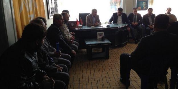 Milletvekili Mustafa Şahin, Doğanşehir'de İstişare Toplantısına Katıldı