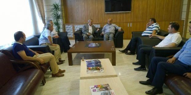 Milletvekili Mustafa Şahin'den Mtso'ya Ziyaret
