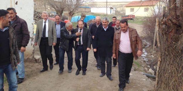 """Milletvekili Öz, ' Heyelan bölgesindeki evler afet kapsamına alındı"""""""